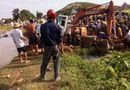 Tin trong nước - Nam thanh niên tử vong vì bị máy xúc đè dưới mương nước
