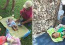 Cộng đồng mạng - Bé trai 2 tháng bị vứt bỏ trên phố Hà Nội khiến cư dân mạng xót xa