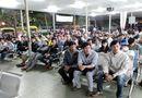 Miền Nam - Hàng ngàn người nghẹt thở chờ mua vé xe tết tại bến xe Miền Đông