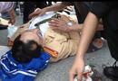 An ninh - Hình sự - Thạc sĩ say rượu, hung hăng đánh Cảnh sát giao thông