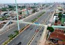 Tin trong nước - TP. HCM: Chính thức thông xe đường Phạm Văn Đồng rộng 12 làn xe