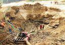 Sập hầm vàng, 3 người mất tích