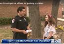 Tin thế giới - Thiếu nữ Mỹ được thưởng vì phạt cảnh sát đỗ xe ẩu