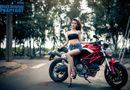 """""""Qủy nhỏ"""" Ducati Monster khoe dáng ngọc bên hotgirl Sài thành"""