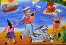 Đời sống - Hoàng Sa - Trường Sa hiện lên đầy cảm xúc qua nét vẽ trẻ thơ