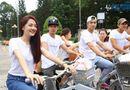Giải trí - Bảo Anh đạp xe đi từ thiện cùng thí sinh Ngôi sao mới