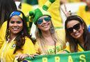 """Tin thế giới - Những """"bóng hồng"""" quyến rũ cuồng nhiệt World Cup 2014"""