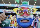 Những khuôn mặt độc đáo của fan World Cup 2014