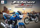 Thị trường - Sáng nay, xe tay côn Suzuki Thunder ra mắt  tại Việt Nam