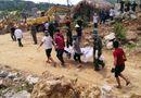 Tin trong nước - Vụ sập mỏ đá ở Phú Thọ: Đưa thi thể nạn nhân cuối cùng ra ngoài