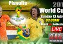 World Cup 2014 - Dự đoán tỷ số trận Brazil đấu với Hà Lan 3h (13/7)