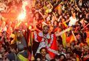 Tin thế giới - Chùm ảnh người  Đức ăn mừng đội tuyển vô địch World Cup