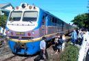 Tin trong nước - Huế: Băng qua đường sắt, một phụ nữ mắc kẹt dưới gầm tàu