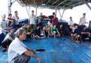 Miền Trung - 38 ngư dân bị Brunei bắt giữ đã về nhà an toàn
