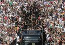 """Tin thế giới - Hình ảnh nước Đức chào đón """"cỗ xe tăng"""" toàn thắng về nước"""