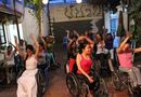 Đời sống - Clip: Độc đáo lớp học khiêu vũ trên xe lăn cho người khuyết tật