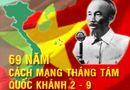 Tin trong nước - Hôm nay (19/8), kỷ niệm 69 năm Cách mạng Tháng 8 thành công