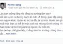 """Cộng đồng mạng - Kenny Sang: """"Giờ thì chỉ làm bạn với chú mèo"""""""