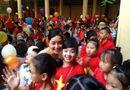 Chuyện làng sao - Sao Việt khoe ảnh đưa con đi khai giảng