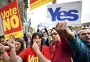 Scotland trước thời khắc bỏ phiếu tách khỏi Vương quốc Anh