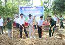 Hình ảnh - Clip: Báo ĐS&PL phối hợp cùng BĐBP khởi công xây nhà tình nghĩa