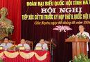 Miền Trung - Chủ tịch Quốc hội Nguyễn Sinh Hùng tiếp xúc cử tri tỉnh Hà Tĩnh