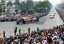Tin trong nước - 10 hình ảnh khó quên trong lễ tang Đại tướng