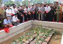 Miền Nam - Truy điệu 36 liệt sỹ được tìm thấy tại hố chôn tập thể