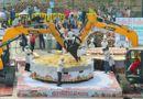 Tin thế giới - 40 đầu bếp tạo nên chiếc bánh bí ngô khổng lồ nặng 845kg