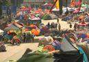 """An ninh TV - Hong Kong: Người biểu tình vẫn bám trụ  """"Chiếm Trung tâm"""""""