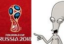 Tin thế giới - Biểu trưng World Cup 2018 được so sánh với người ngoài hành tinh