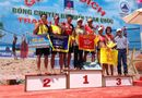 Sản phẩm - Dịch vụ - Sanna Khánh Hòa lên ngôi tại Giải bóng chuyền bãi biển - PV Gas D