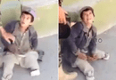 Video-Hot - Video: Bóc mẽ chiêu giả vờ tàn tật để ăn xin trên phố