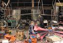 Tin trong nước - Cháy chợ Nhật Tân: Nguyên nhân do chập điện