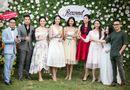 Chuyện làng sao - Dàn người đẹp đến mừng Hoa hậu Ngọc Hân khai trương showroom thời trang