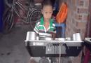 Video-Hot - Tiếng nhạc của 2 em nhỏ trong gia đình nghèo khiến bao người lay động