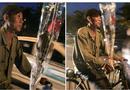 Bức ảnh người đàn ông nghèo đi xe đạp mua hoa tặng vợ ngày 20/10 gây sốt mạng