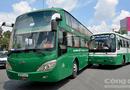 Video-Hot - Xe khách, xe buýt tông nhau trước cổng bến xe Miền Tây