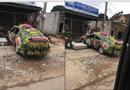 Cộng đồng mạng - Chiếc xe dâu được trang trí nhiều hoa
