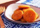 Ăn - Chơi - Bánh bí đỏ nóng giòn tan - món tráng miệng cho ngày lạnh