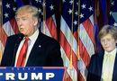 Video-Hot - Con trai Trump gà gật vì buồn ngủ khi cha phát biểu chiến thắng