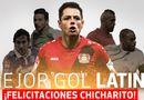 Video-Hot - Chicharito được bình chọn