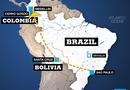 Tin thế giới - Vụ rơi máy bay ở Colombia: Phát hiện 2 hộp đen