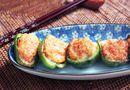 Ớt chuông xanh nhồi tôm – món ăn ngon, đẹp mắt dành cho cả gia đình