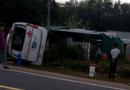 Tin trong nước - Lật xe cấp cứu, 6 người thương vong