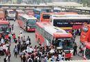 Tin trong nước - Hà Nội: Tiếp tục điều chuyển hàng loạt luồng tuyến vận tải hành khách