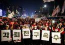 Tin thế giới - 200 nghìn người dân Hàn Quốc đòi Tổng thống từ chức trong đêm Giáng sinh
