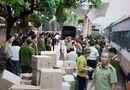 Thị trường - Bắt giữ hàng lậu vận chuyển bằng tàu hỏa Lạng Sơn - Hà Nội