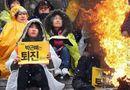 Tin thế giới - Nhà sư tự thiêu phản đối Tổng thống Hàn Quốc