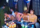 An ninh - Hình sự - Hàng chục thanh niên nam, nữ có biểu hiện sử dụng ma túy trong quán karaoke